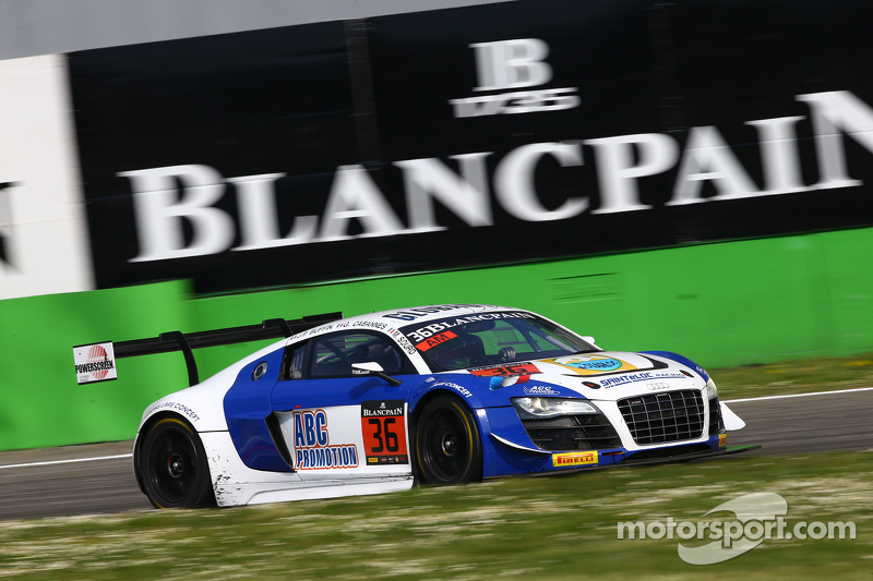 #36 Sainteloc Audi R8 LMS ultra: Jean-Paul Buffin, Georges Cabannes, Marc Sourd