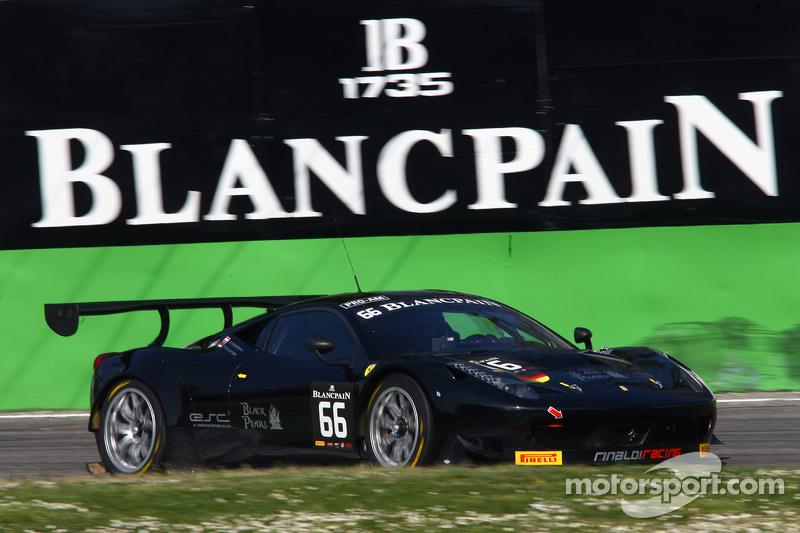 #66 Rinaldi的黑珍珠车队, 法拉利458 Italia: Steve Parrow, Pierre Kaffer