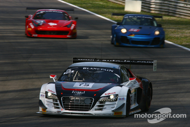 #75 ISR Audi R8 LMS Ultra: Filip Salaquarda, Марко Бонаномі, Frederic Vervisch