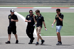 Romain Grosjean, Lotus F1 Team y Jolyon Palmer, Lotus F1 Team