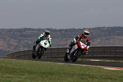 Alex Baldolini, Race Department ATK#25 and Dominic Schmitter, Team Go Eleven