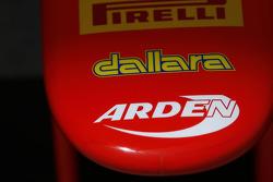 Носовой обтекатель команды Arden International