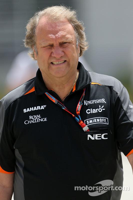 Robert Fernley Sahara Force India F1 Team Deputy Team Principal
