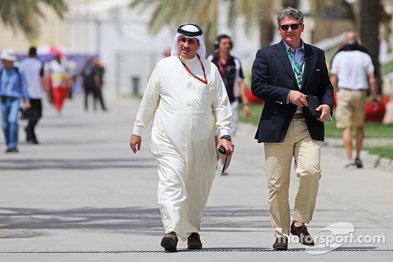 Scheich Mohammed bin Essa Al Khalifa, Geschäftsführer des Bahrain Economic Development Board und McL
