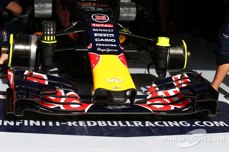 Red Bull Racing RB11, Frontpartie