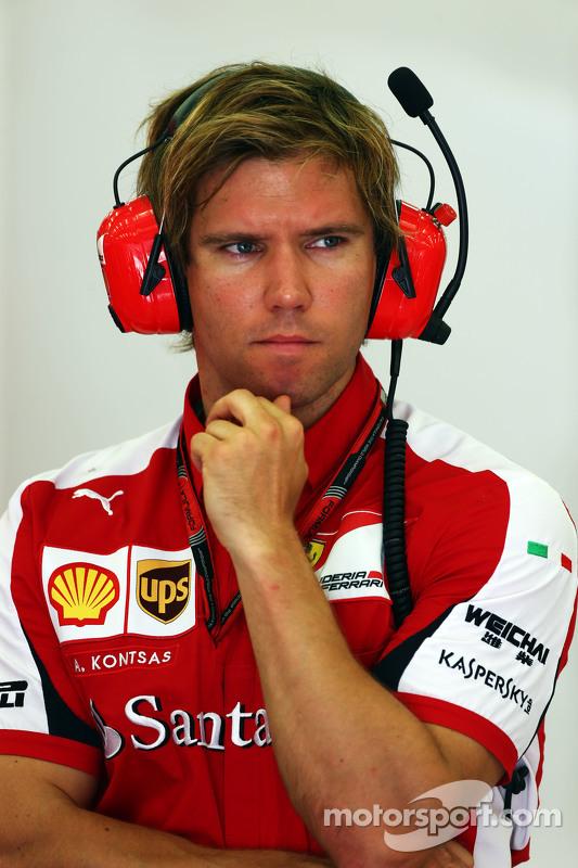 Antti Kontsas, Personal Trainer of Sebastian Vettel, Ferrari