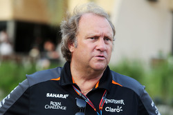 Robert Fernley, vice-Team Principal Sahara Force India F1 Team
