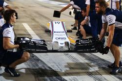 Переднее антикрыло для Williams FW37 Фелипе Массы