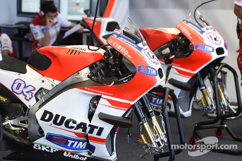 Ducati team area