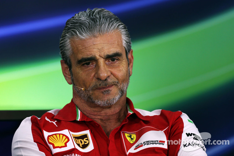 Maurizio Arrivabene, Ferrari Team Principal di FIA Press Conference