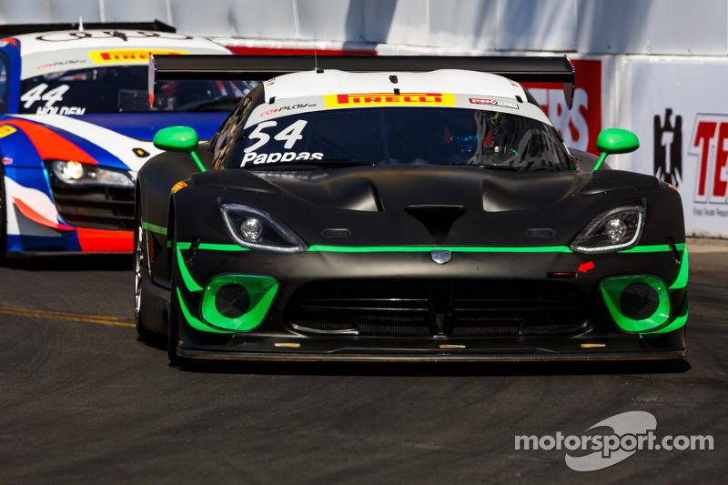 #54 黑天鹅车队,道奇Viper GT3R: Tim Pappas