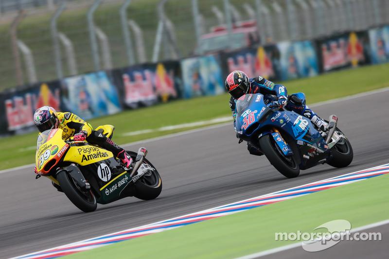 Luis Salom, Paginas Amarillas HP 40 e Mika Kallio, Italtrans Racing Team