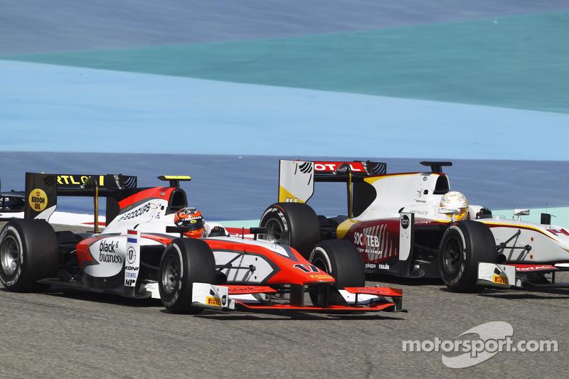 Daniel De Jong, MP Motorsport  dan Arthur Pic, Campos Racing