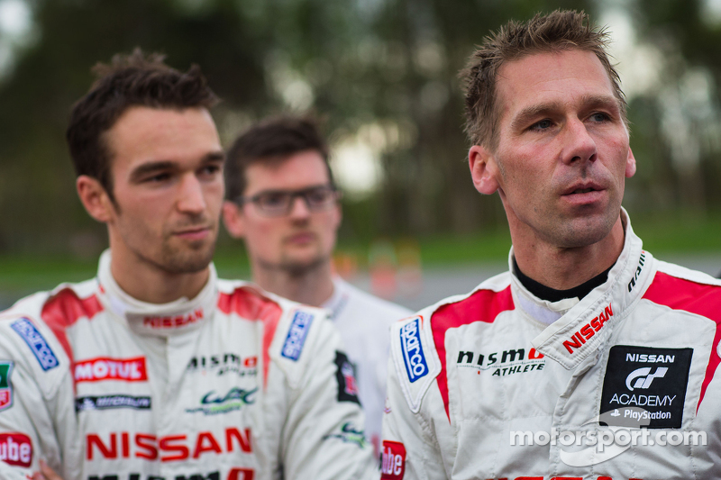 Harry Tincknell and Michael Krumm, Nissan Motorsports