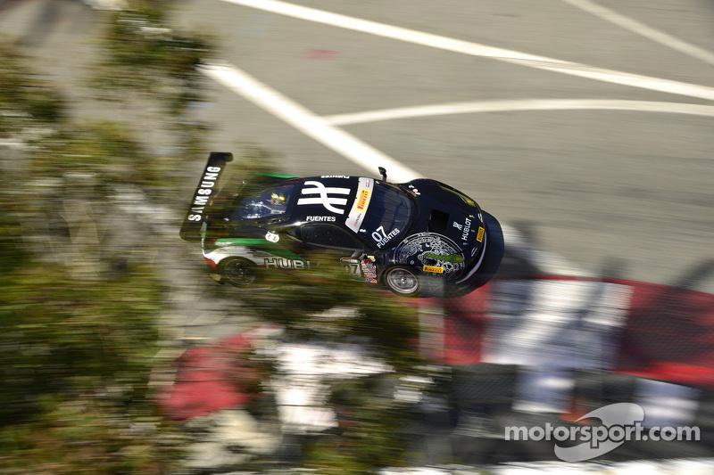 #07 Scuderia Corsa Ferrari 458 GT3 Italia: Martin Fuentes