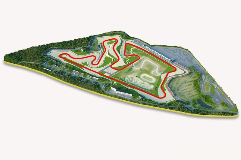 Кімі Рінг proposed layout для MotoGP in Finlта