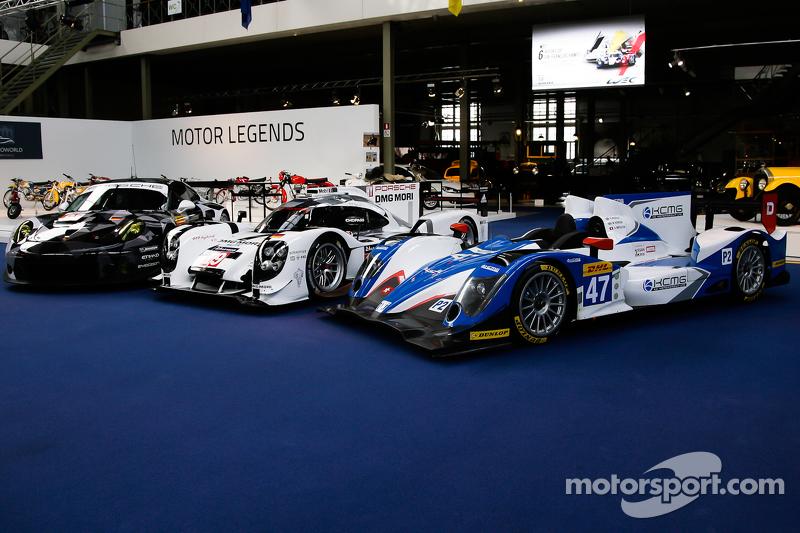 #19 Porsche Team 919 Hybrid and #47 KCMG Oreca 05 Nissan dan #88 Proton Competition Porsche 911 RSR