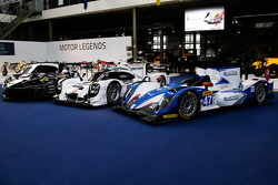 #19 Porsche Team 919 Hybrid y #47 KCMG Oreca 05 Nissan y #88 Proton Competition Porsche 911 RSR