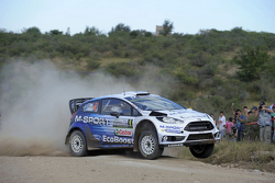 Ott Tanak y Raigo Molder, Ford Fiesta Rs Wrc, M-Sport World Rally Team
