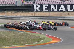 Meindert van Buuren, Lotus memimpin di start