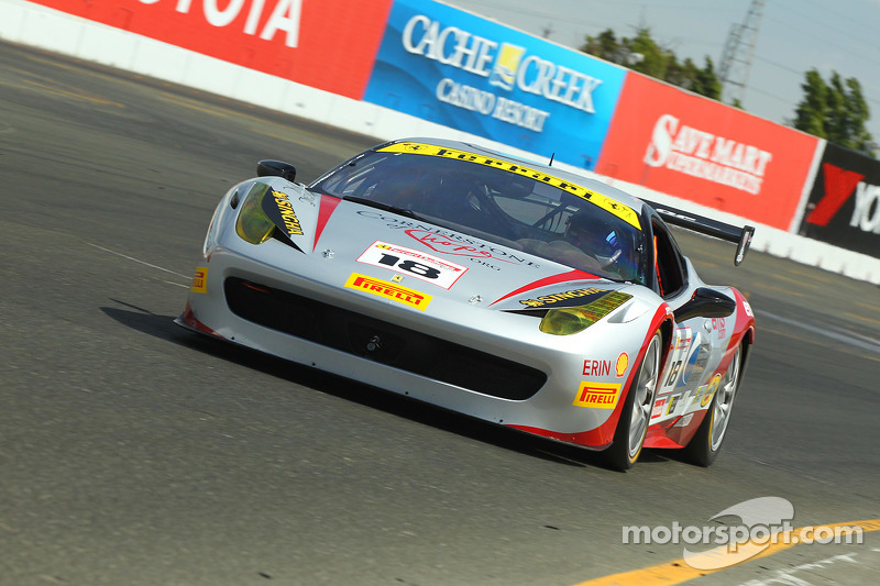 #18 Ferrari of San Francisco, Ferrari 458: James Weiland
