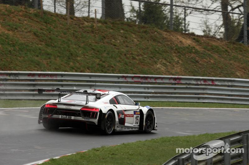 #15 Audi Sport Team Phoenix, R8 LMS: Christian Mamerow, René Rast, Markus Winkelhock