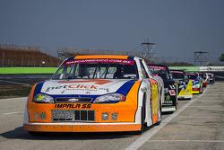 Rodrigo Marbán,Marbán Racing en fila.