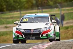 Tiago Monteiro, Equipo Castrol Honda WTCC
