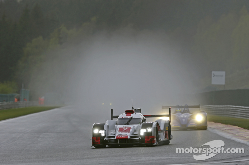 #7 奥迪运动车队,奥迪R18 e-tron quattro Marcel Fassler, Andre Lotterer, Benoit Tréluyer