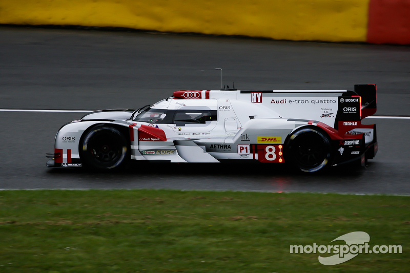 #8 奥迪运动车队,奥迪 R18 e-tron quattro Hybrid: Lucas Di Grassi,Loïc Duval, Oliver Jarvis