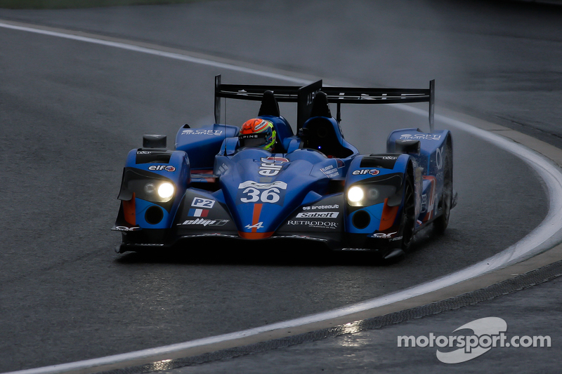 #36 Signatech, Alpine Alpine A450B-Nissan: Nelson Panciatici, Paul Loup Chatin, Vincent Capillaire