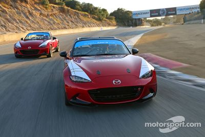 Pruebas en la Global MX-5 Cup