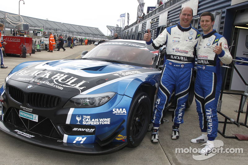 Marco Attard und Alexander Sims, Ecurie Ecosse, BMW Z4 GT3