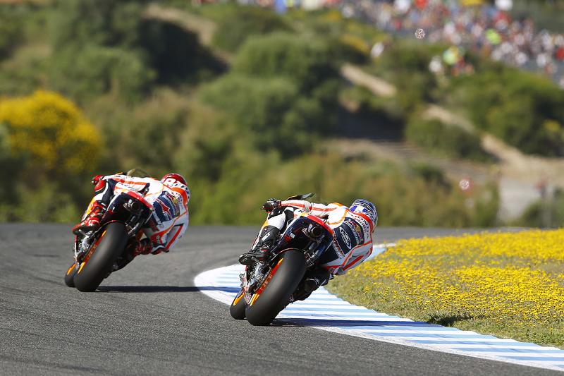 Marc Marquez und Hiroshi Aoyama, Repsol Honda Team