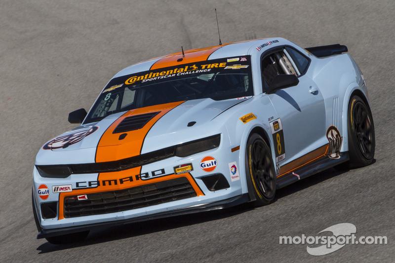 #8 Mantella Autosport,雪佛兰科迈罗Z/28.R: Anthony Mantella, Mark Wilkins