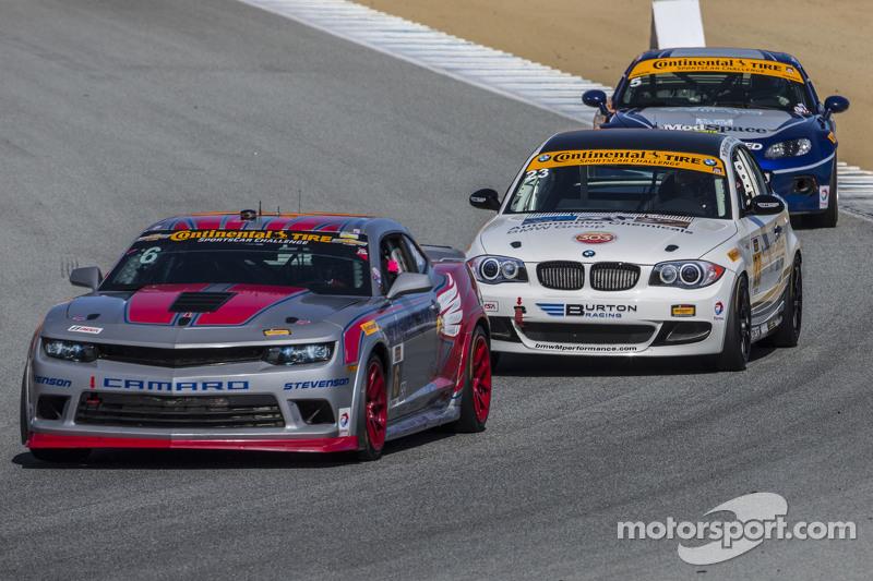 #6 Stevenson Motorsports,雪佛兰科迈罗Z/28.R: Andrew Davis, Robin Liddell