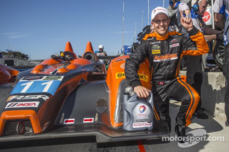 PC polesitter: #11 RSR Racing Oreca FLM09 Chevrolet: Chris Cumming, Bruno Junqueira