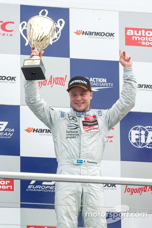 Il vincitore: Felix Rosenqvist, Prema Powerteam