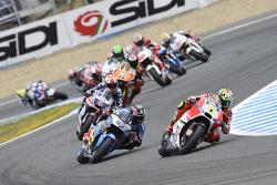Andrea Iannone, Ducati Team y Scott Redding, Marc VDS Racing Honda