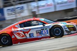 #45 Flying Lizard Motorsports, Audi R8 LMS: Guy Cosmo, Patrick Byrne
