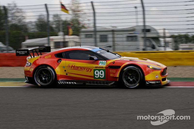 #99 Aston Martin Racing, Aston Martin Vantage V8: Alex MacDowall, Fernando Rees, Richie Stanaway