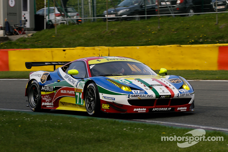 #71 AF Corse 法拉利F458 Italia: Davide Rigon, James Calado