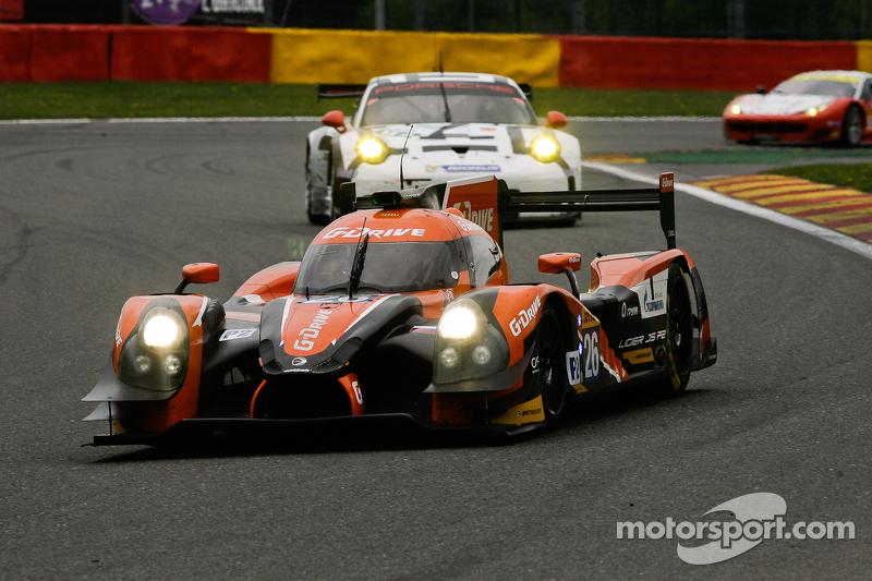 #26 G-Drive Racing, Ligier JS P2-Nissan: Roman Rusinov, Julien Canal, Sam Bird