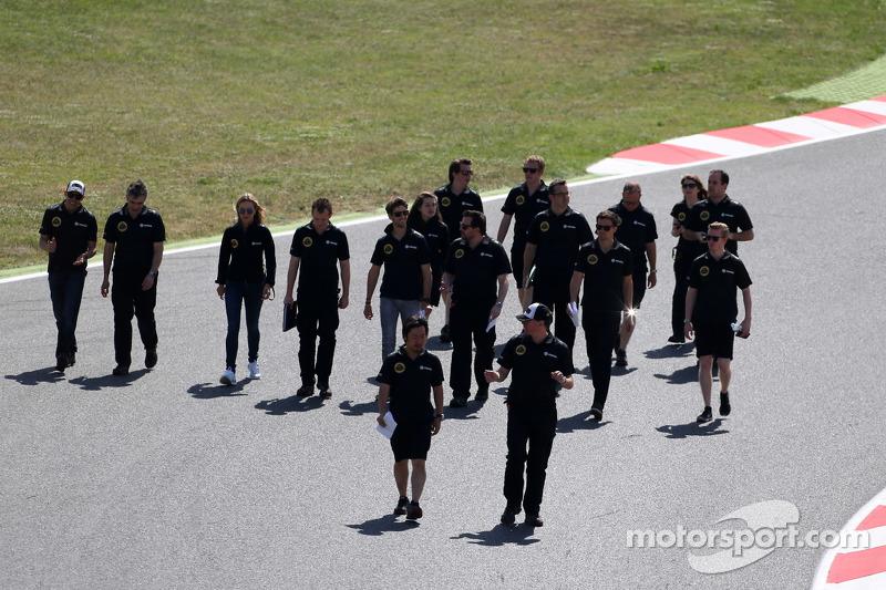 Romain Grosjean, Lotus F1 Team, Pastor Maldonado, Lotus F1 Team