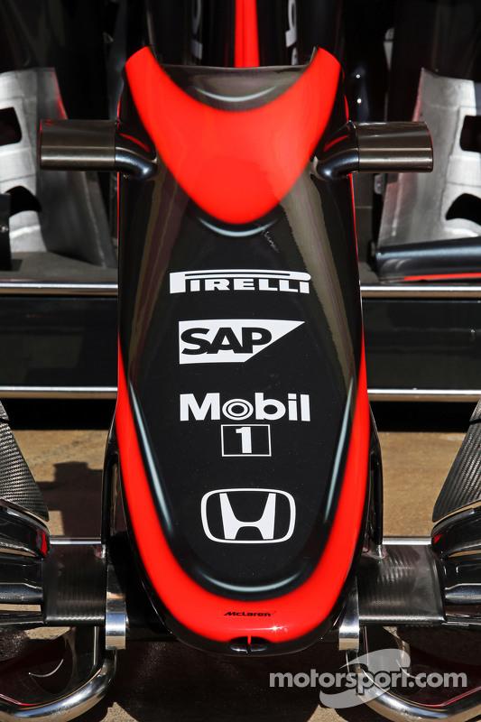 McLaren MP4-30 - нова ліврея