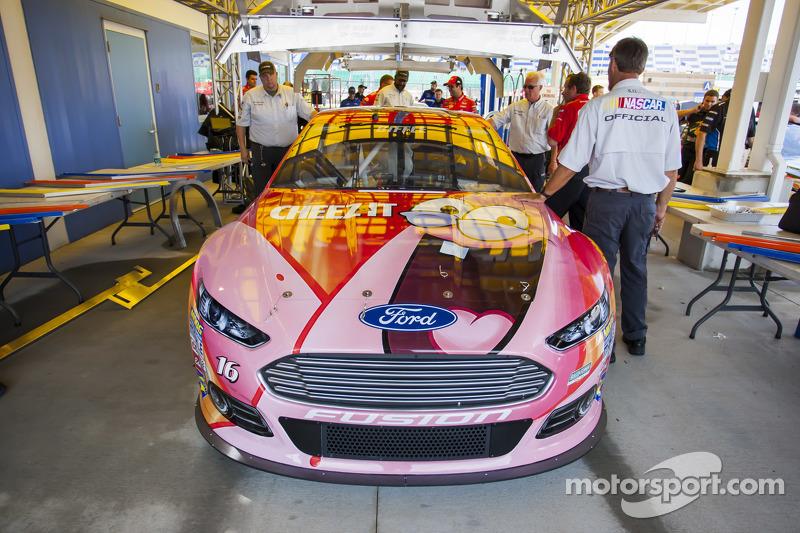 Das Auto von Greg Biffle, Roush Fenway Racing, Ford