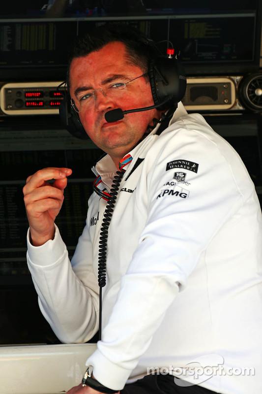 Eric Boullier, Diretor da McLaren