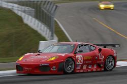 #62 Risi Competizione Ferrari 430 GT Berlinetta: Stephane Ortelli, Johnny Mowlem