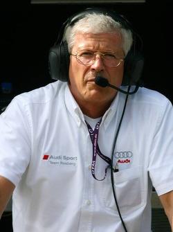 Arno Zenden, Chief Engineer Team Rosberg