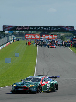 Reckon lap: #50 Aston Martin Racing Larbre Aston Martin DBR9: Pedro Lamy, Gabriele Gardel, Vincent Vosse
